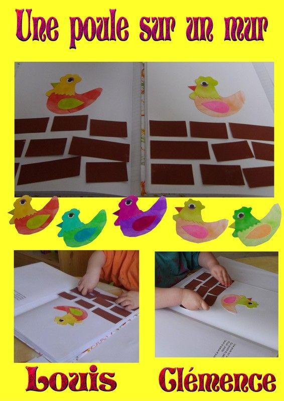 Une poule sur un mur version 2013