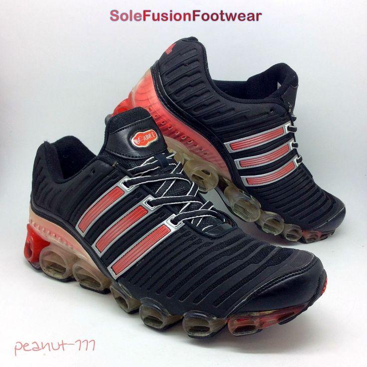 adidas Mens Megabounce Running Trainers Black/Red sz 8.5 Sneakers US 9 EU 42 2/3    eBay