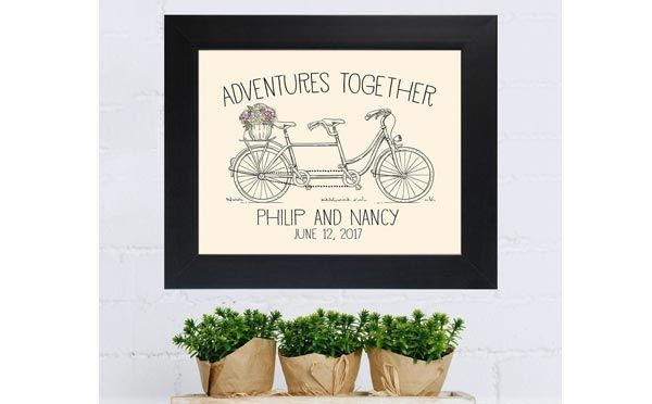 20 Romantic Birthday Gifts For Husband That Will Melt His Heart - Personalized Frame - Click to read more