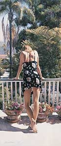 View from the Balcony - Steve Hanks - World-Wide-Art.com - $315.00