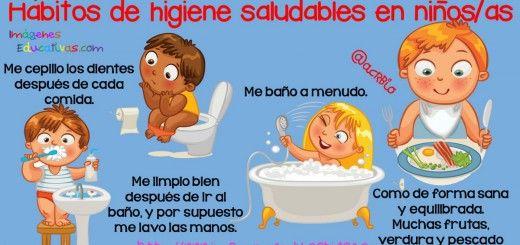 Hábitos saludables de higiene en niños y niñas.   – Ciencias apoyo