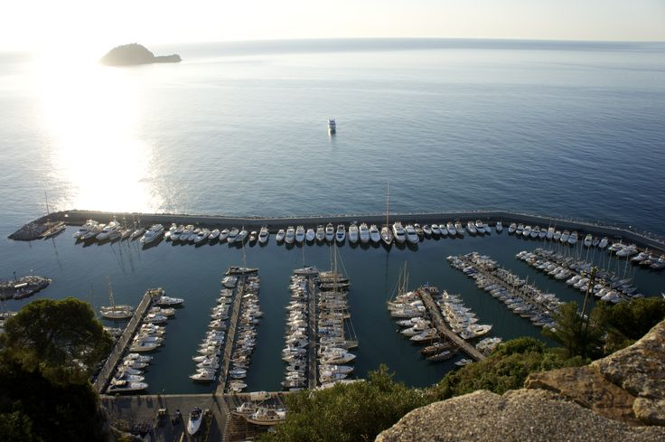 "Alassio and its Harbor. Just 4 miles from ""La Meridiana Hotel & Golf Resort""."