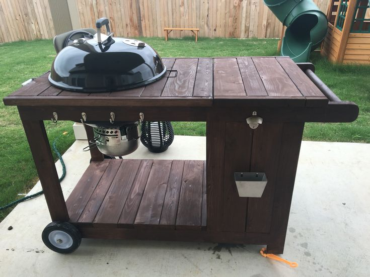 custom weber bbq grill cart with ice chest weber bbq grillsbbq