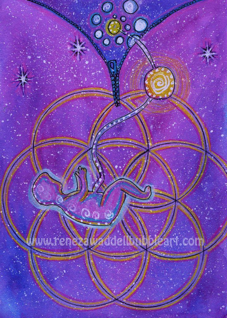 cosmic connection starseed www.renezawaddellbubbleart.com