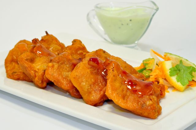 Try my recipe for tasty, battered Indian fish fritters - Fish Pakora!