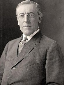 Woodrow Wilson was the 28th president of the United States, he was a democrat and was in office for 8 years (1913-1921).