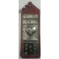 """""""One of a kind"""" Bookmark with  Handcrafted Pewter Art by Hanli for R30.00"""