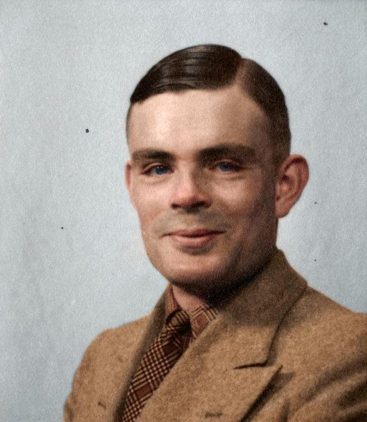 Alan Turing - a computer scientist philosopher and cryptologist who played a crucial role in breaking the Nazis Enigma code seen here in happier times. Unknown date.
