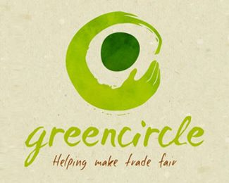 .: Logo for a fair trade shop. We also designed and built their ecommerce website.  Compliments...beautifull