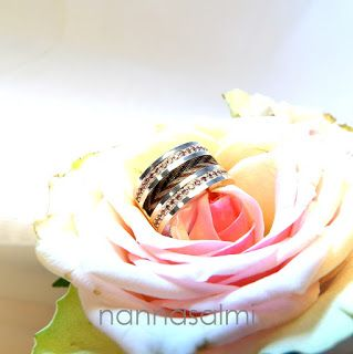 custom made horsehair ring made with your own horse´s hair Cassiopeia www.nannasalmi.com