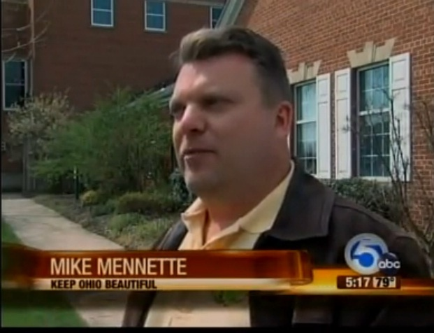 VIDEO: Northeast Ohio Litter Problem Growing: News Channel 5 TV in Cleveland. www.newsnet5.com featuring Keep Ohio Beautiful, Executive Director, Michael Mennett    https://www.facebook.com/photo.php?v=10150850699695688