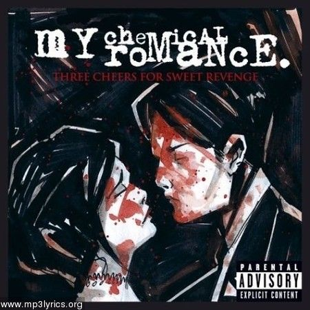 My Chemical Romance-Three Cheers for Sweet Revenge.  This was one of Gerard ways own art designs