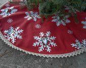 Christmas Tree Skirt Christmas Decor Holiday Decor Scandinavian Christmas Gift Christmas Ornament Gnome Tomte Swedish Christmas Nordic