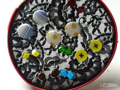 How to Make a Homemade Earring Holder -- via wikiHow.com