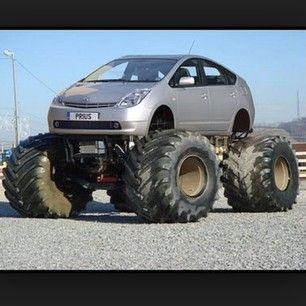 Prius With A Lift Kit >> Instagram photo by sweet_trucks2014 - #car #Prius #dodge #honda #chevy #ford #lifted #liftkit # ...