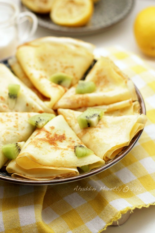 Lemon Sugar Crepes: Sweet, Lemon Sugar, Breakfast, Recipes, Lemon Crepes, Dessert