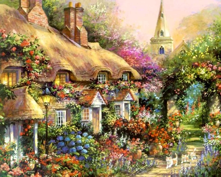 by Thomas Kinkade...                                                                                                                                                     More