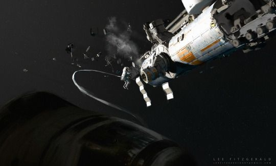 "Космическая фантастика (Space Fantasy)    ""EVA,"" by Lee Fitzgerald"