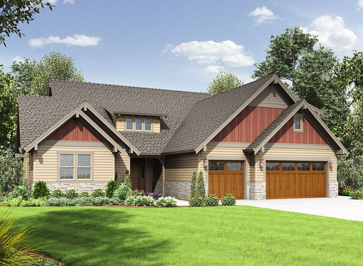 3 Bed Craftsman with Loft and Games Room - 69648AM | Architectural Designs - House Plans