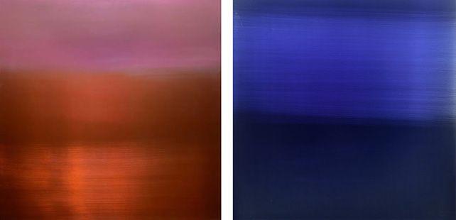 Sora/Ku (Sky/Emptiness) – Paintings and Installations by Miya Ando @ Sundaram Tagore Gallery, Gillman Barracks (until 08 Jan)