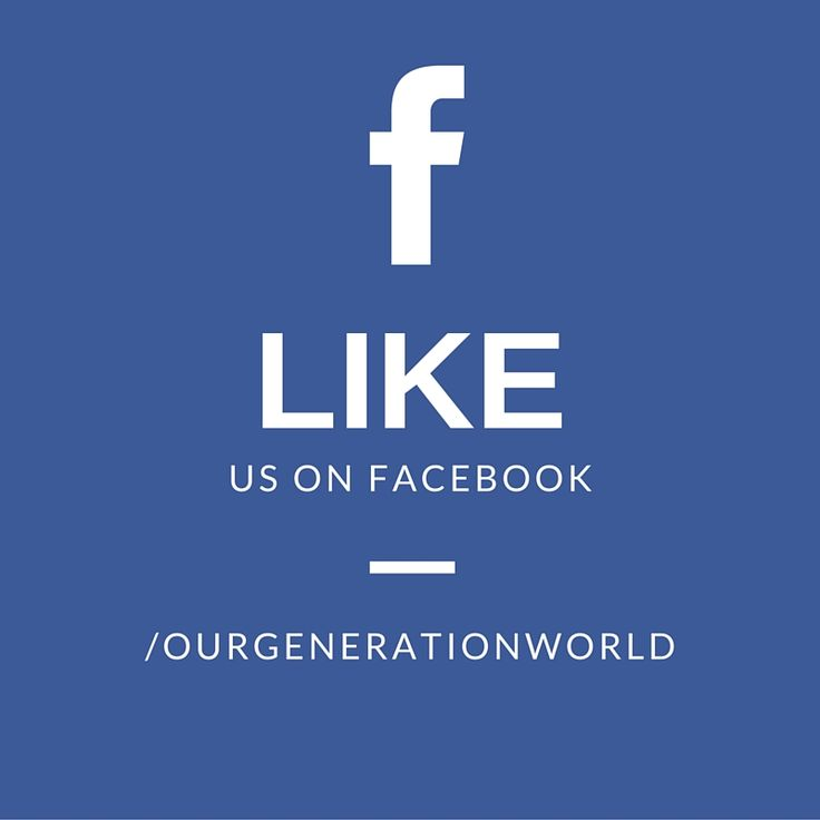 Like us on Facebook if you love Our Generation Dolls!   https://www.facebook.com/ourgenerationworld/