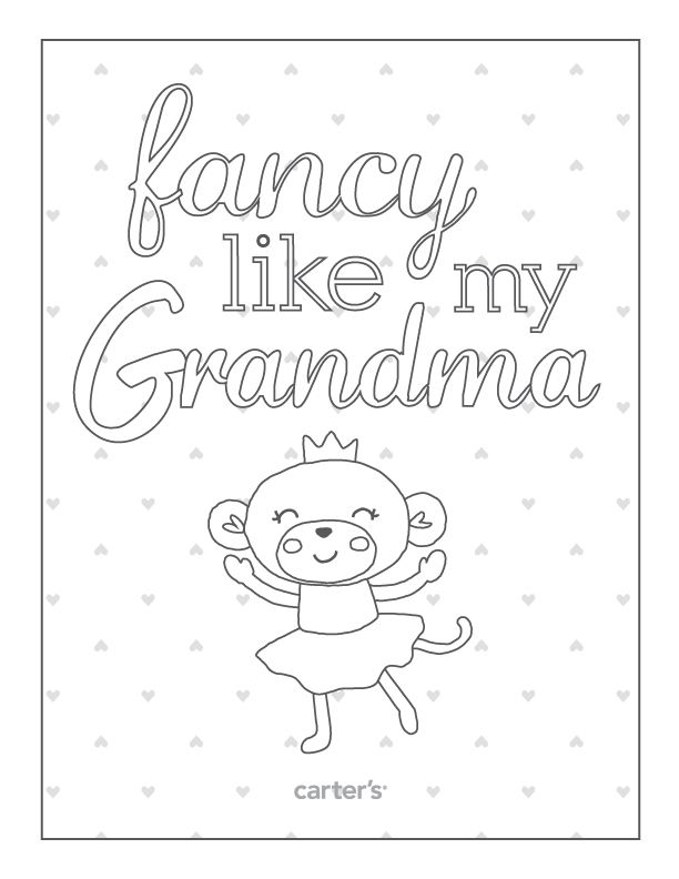 21 best grandparents day images on Pinterest Gift ideas - new christmas coloring pages for grandparents