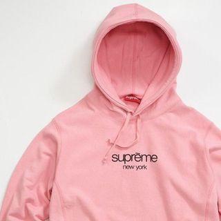 Supreme Pink Classic Hoodie