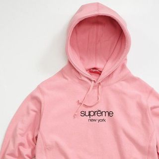 Supreme Pink Classic Hoodie
