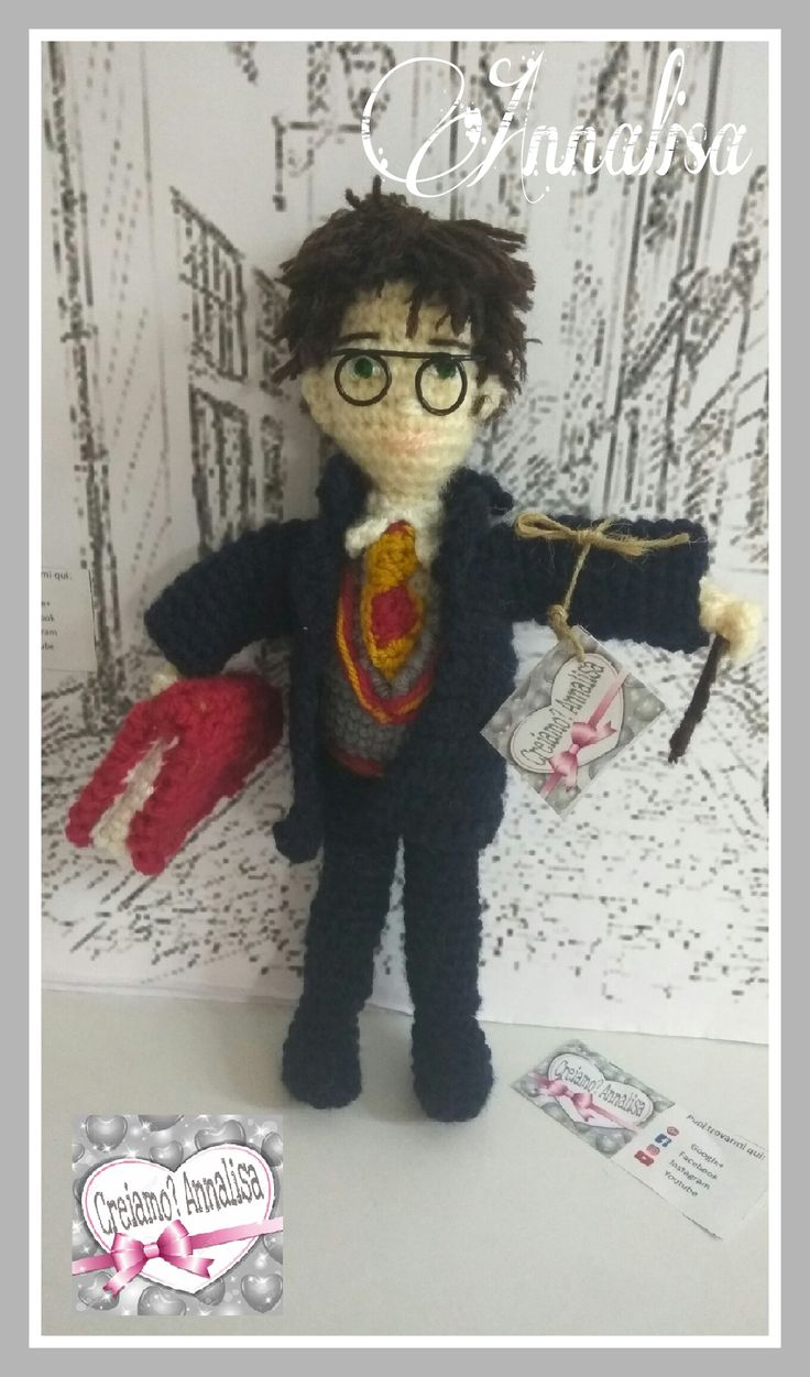 Harry Potter prossimo video tutorial sul mio canale YouTube
