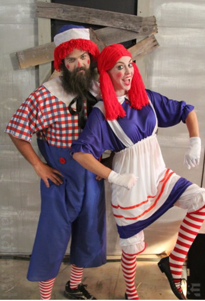 Jep and Jessica Robertson:Raggedy Ann and and Andy