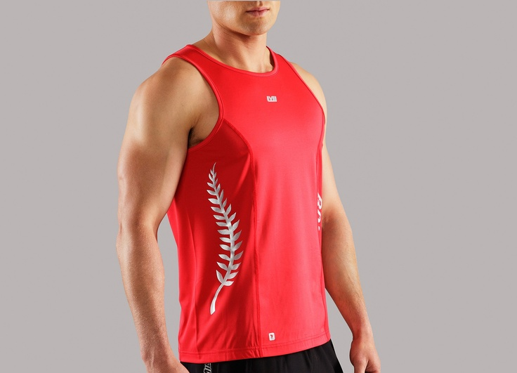 All men's tops - Men's BODYPUMP™ Tone Singlet - Les Mills
