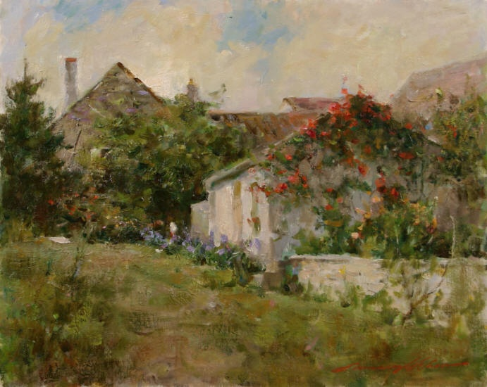 Soleil Du St. Tropez - Limited Edition Giclee Print by ... |Leonard Wren Paintings