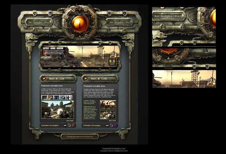 Rusty Interface by karsten on deviantART