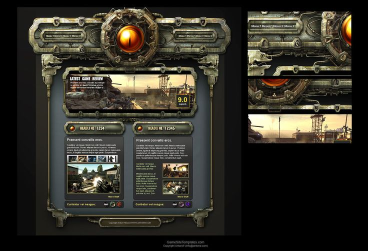 Rusty Interface by karsten on deviantART