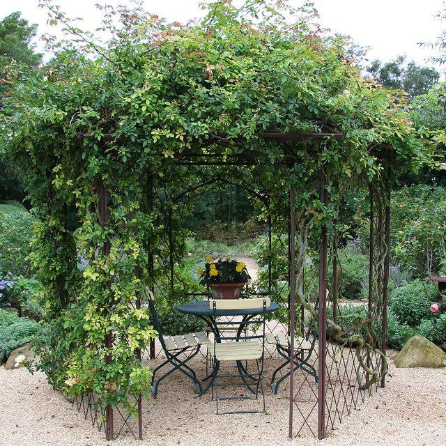 Covered Arbor  Garden