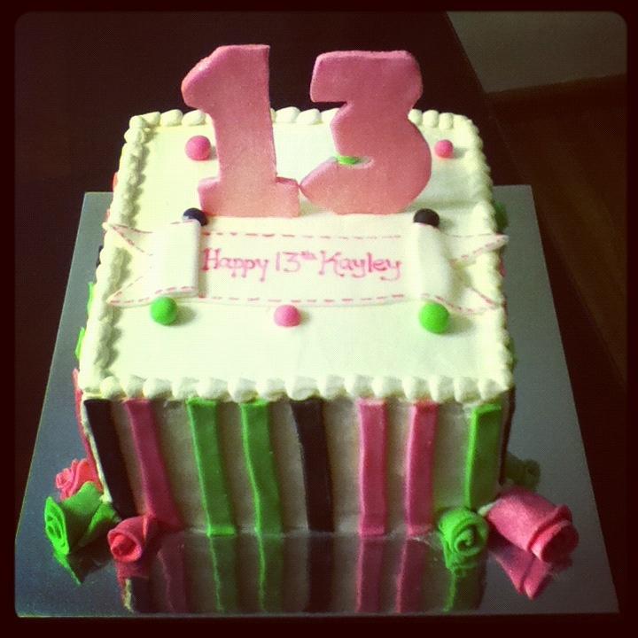 13th Birthday Cake Party Pinterest