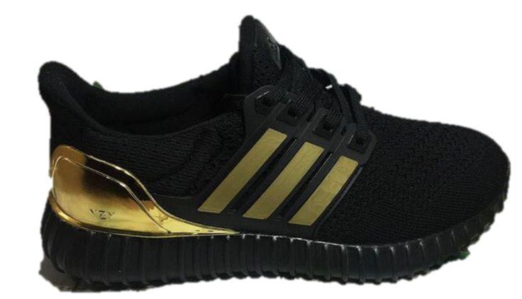 adidas ultra boost black gold