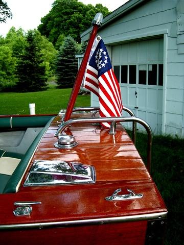 Century Resorter Stern-Jets boat works