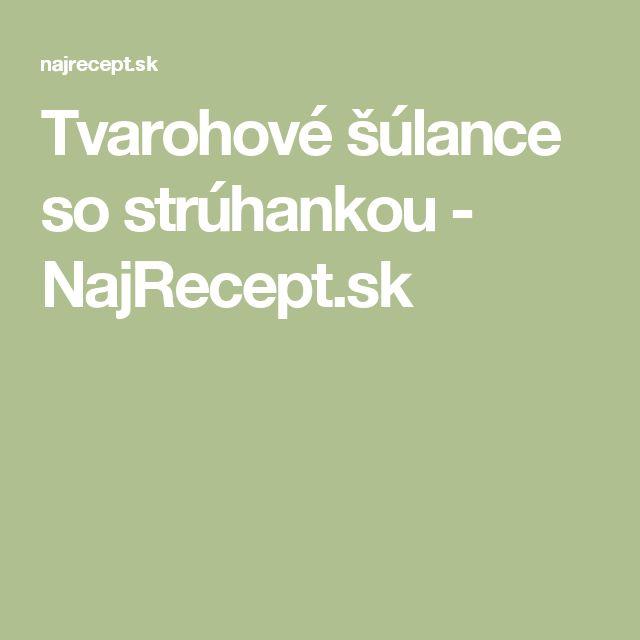 Tvarohové šúlance so strúhankou - NajRecept.sk