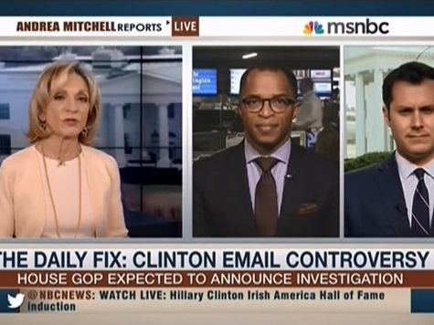 Andrea Mitchell: With Friends Like Carville, 'You Don't Need Ken Starr'