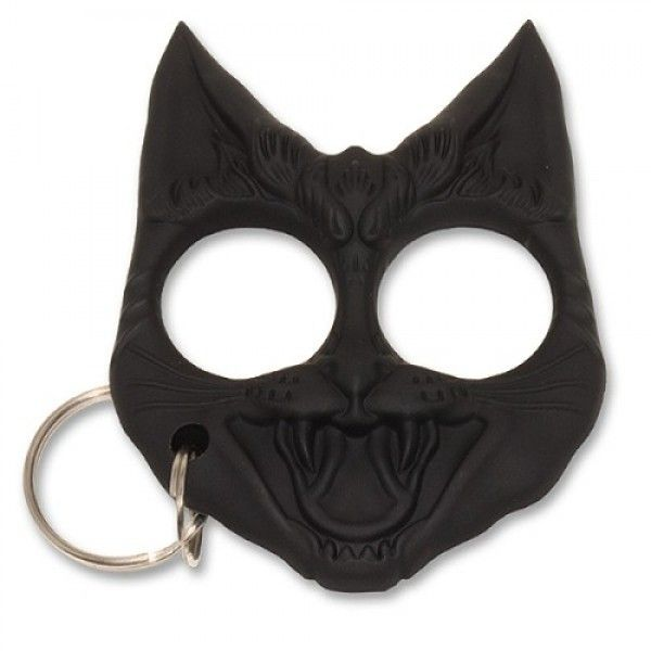 Wild Cat Self Defense Keychain Evil Cat Self Defense Keychain Cat Self Defense Keychain