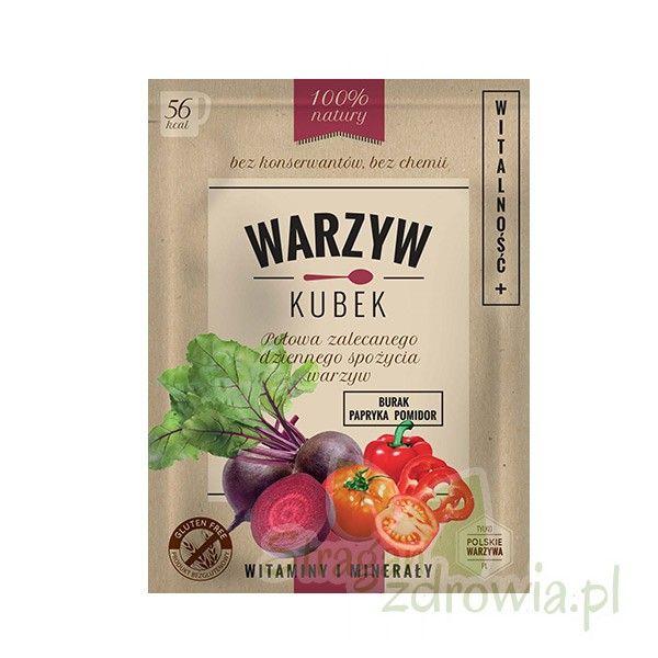 Warzyw Kubek Witalność 16g - Zdrowa żywność - sklep StraganZdrowia.pl