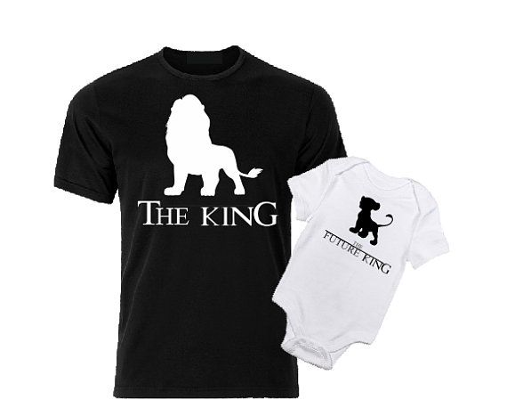 cfce6c3b The King The Future King Lion King Family Matching T shirts | Mom to ...