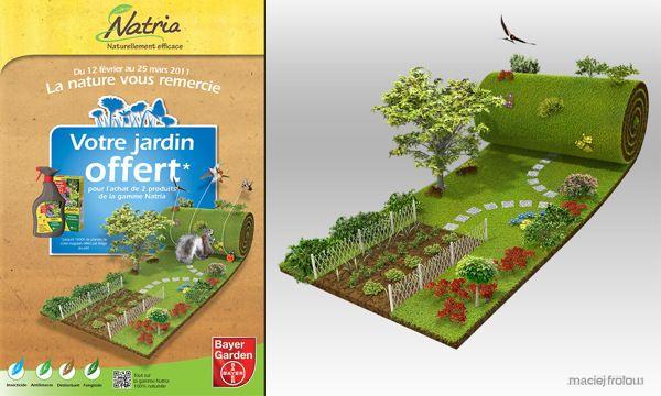 Bayer Garden on Behance