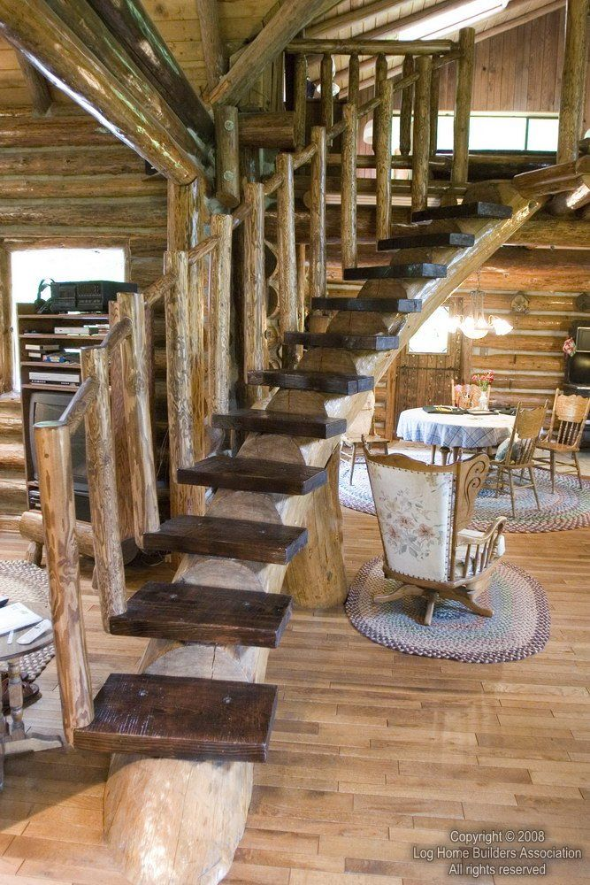 139 Best Rustic Staircase Images On Pinterest Rustic