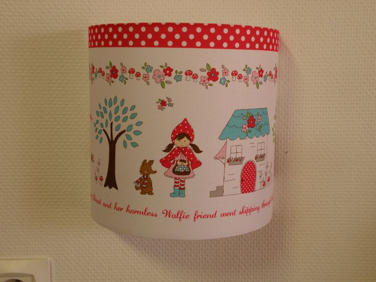Applique murale pour chambre d'enfant le petit chaperon rouge : Décoration pour enfants par anne-claude-c