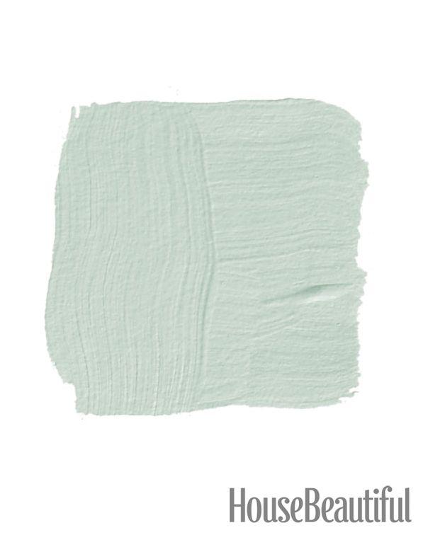 Color Inspiration: Teresa's Green .. a bluish celadon.  possible kitchen walls