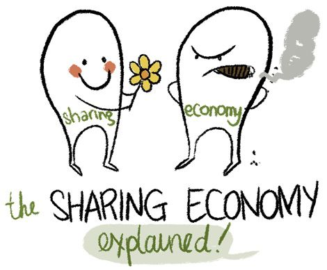 The sharing economy, from soup to nuts