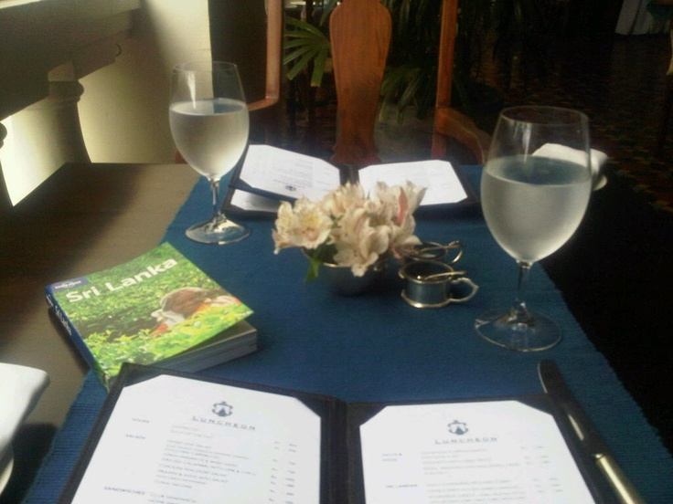 Lunch at the Dutch Fort town Galle