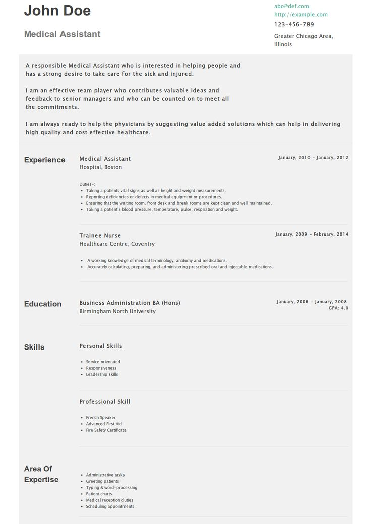 How To Write An Application Letter For Kitchen Assistant Sample Resume For Medical  Administrative Assistant Resume  Medical Administrative Assistant Resume
